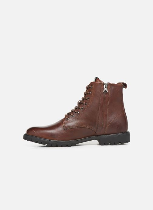 Ankle boots Blackstone SG33 Brown front view