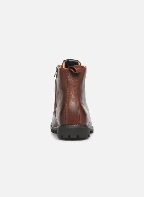 Bottines et boots Blackstone SG33 Marron vue droite