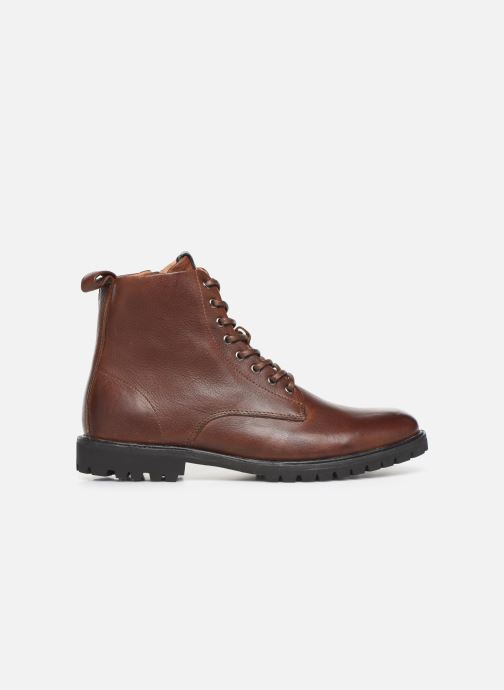 Ankle boots Blackstone SG33 Brown back view