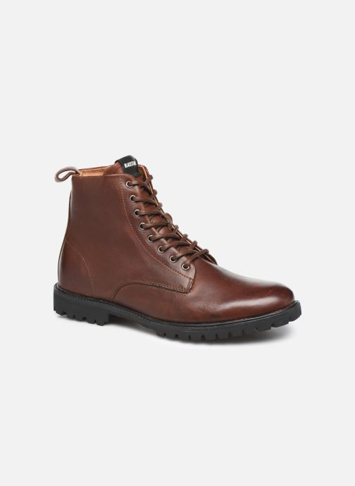 Ankle boots Blackstone SG33 Brown detailed view/ Pair view