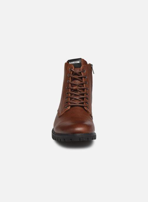 Stiefeletten & Boots Blackstone SG33 braun schuhe getragen