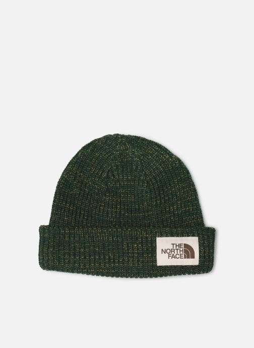 Muts The North Face Salty Dog Beanie Groen detail