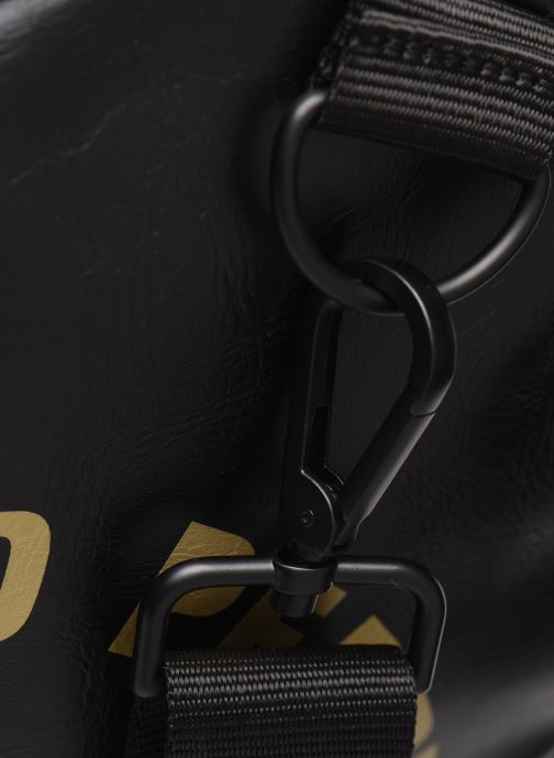 Sacs de sport Fred Perry Tonal Barrel Bag Noir vue gauche