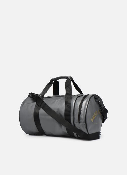 Sacs de sport Fred Perry Tonal Barrel Bag Gris vue droite