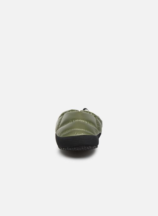 Chaussons The North Face Nse Tent Mule III Vert vue portées chaussures
