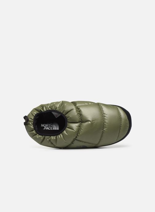 Chaussons The North Face Nse Tent Mule III Vert vue gauche