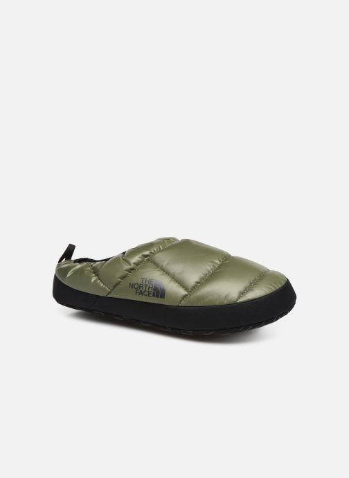 Chaussons The North Face Nse Tent Mule III Vert vue détail/paire