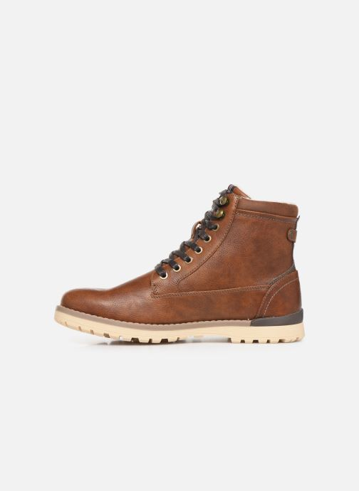 Bottes Mustang shoes Mirtle Marron vue face