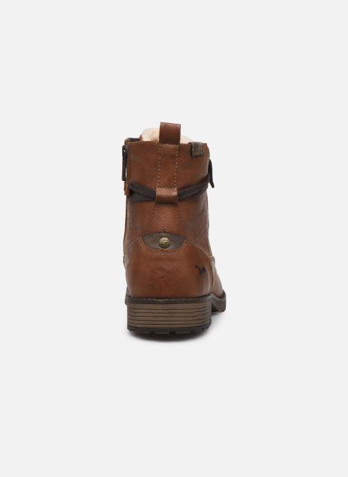 Bottines et boots Mustang shoes Valery Marron vue droite
