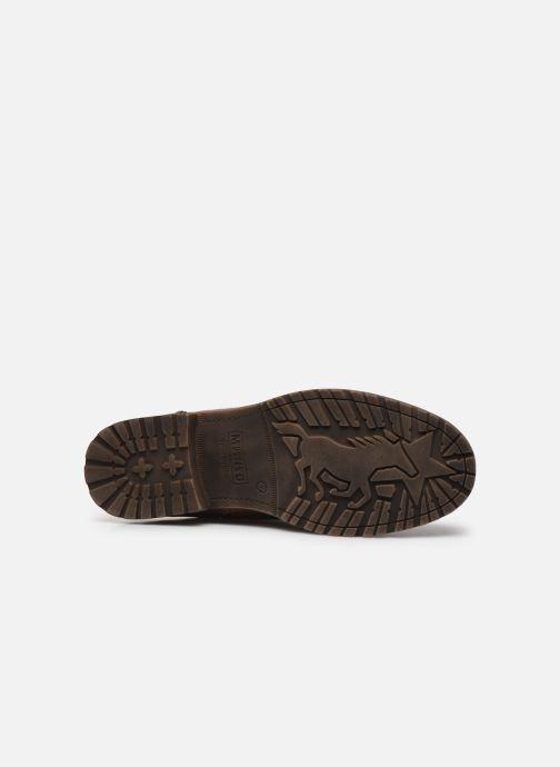 Bottines et boots Mustang shoes Valery Marron vue haut