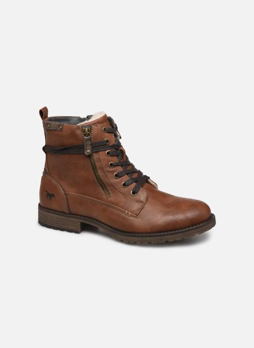 Bottines et boots Mustang shoes Valery Marron vue détail/paire