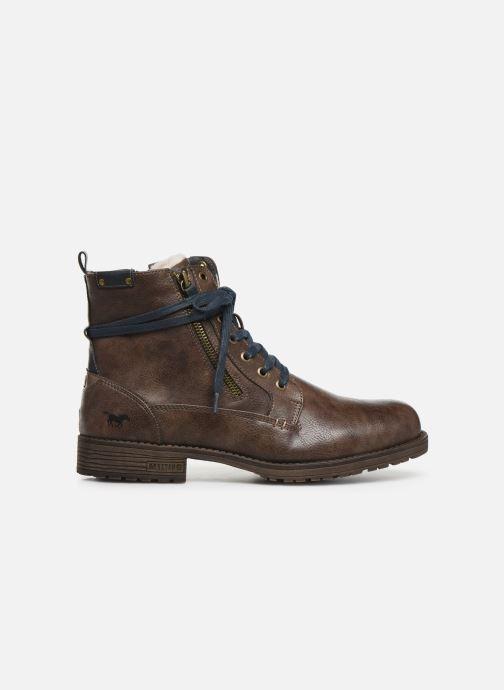 Bottines et boots Mustang shoes Valery Marron vue derrière