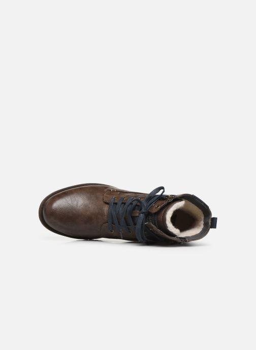Stiefeletten & Boots Mustang shoes Valery braun ansicht von links