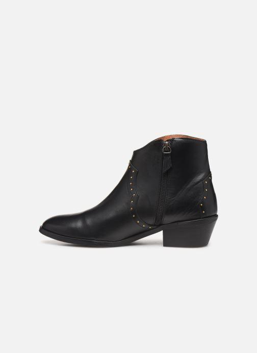 Bottines et boots Anonymous Copenhagen FIONA 35 STUDS Noir vue face