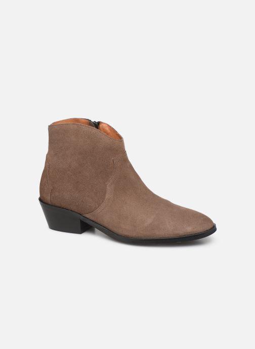 Bottines et boots Anonymous Copenhagen FIONA 35 Marron vue détail/paire