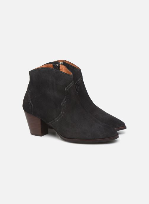 Bottines et boots Anonymous Copenhagen FIONA 60 Gris vue 3/4