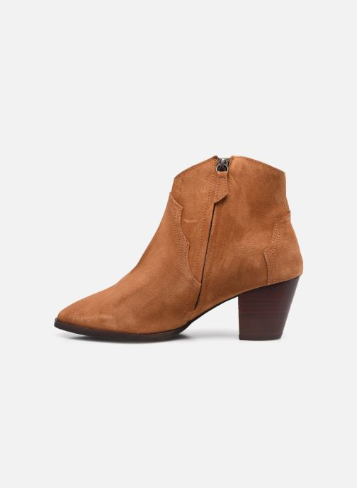 Bottines et boots Anonymous Copenhagen FIONA 60 Marron vue face