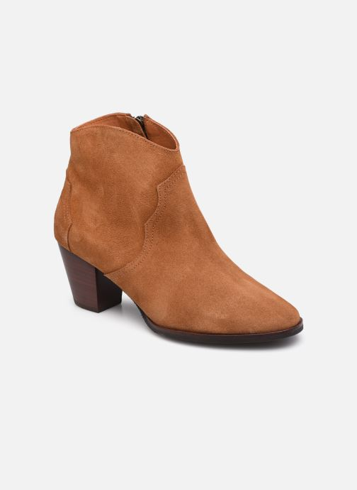 Bottines et boots Anonymous Copenhagen FIONA 60 Marron vue détail/paire