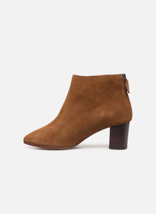 Bottines et boots Anonymous Copenhagen MILEY 55 Marron vue face