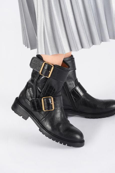 Bottines et boots Anonymous Copenhagen HELEN Noir vue bas / vue portée sac