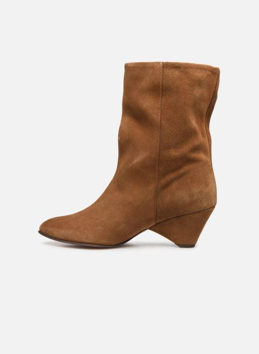 Boots en enkellaarsjes Anonymous Copenhagen VULLY TRIANGLE Bruin voorkant