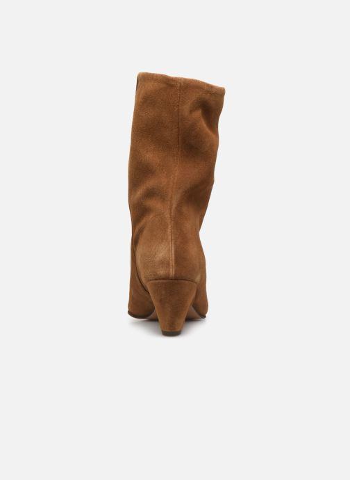 Boots en enkellaarsjes Anonymous Copenhagen VULLY TRIANGLE Bruin rechts