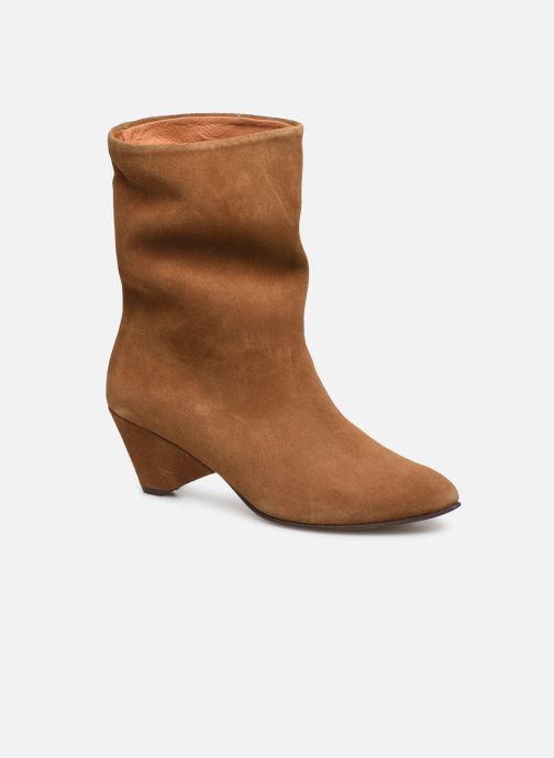 Boots en enkellaarsjes Anonymous Copenhagen Vully Triangle Bruin detail