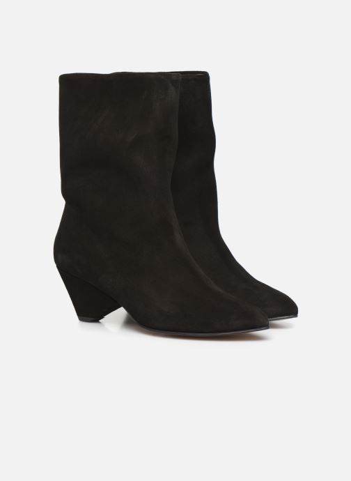 Bottines et boots Anonymous Copenhagen VULLY TRIANGLE Noir vue 3/4