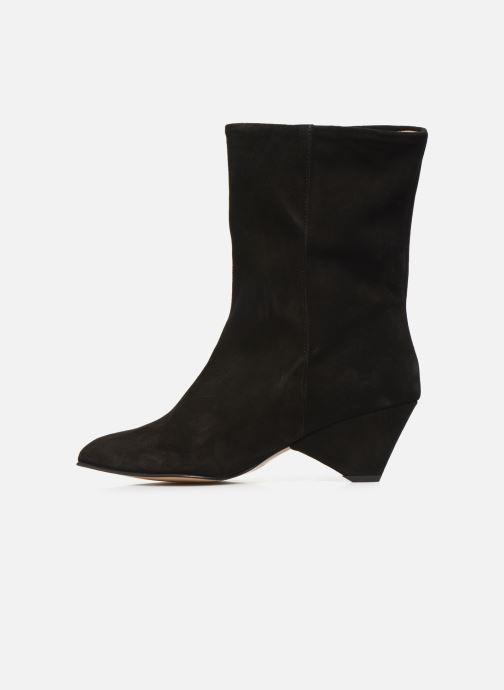 Bottines et boots Anonymous Copenhagen VULLY TRIANGLE Noir vue face