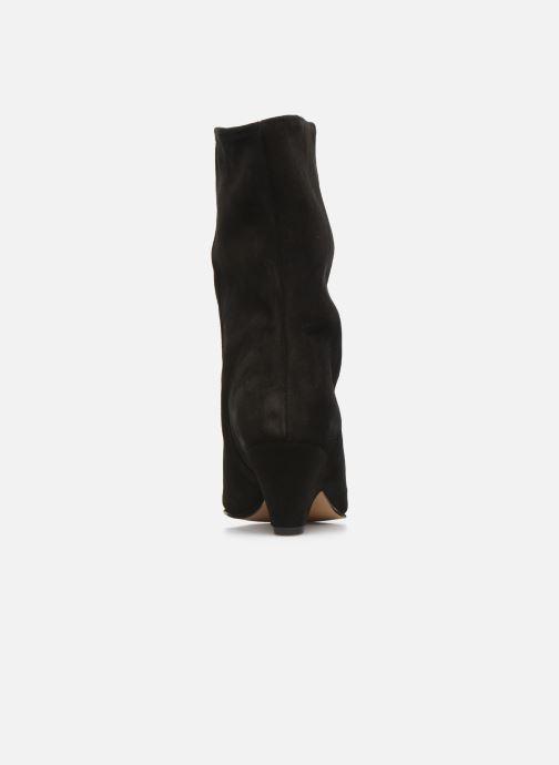 Bottines et boots Anonymous Copenhagen VULLY TRIANGLE Noir vue droite