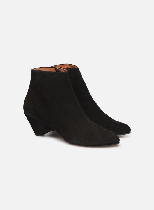 Bottines et boots Anonymous Copenhagen NIVA TRIANGLE Noir vue 3/4