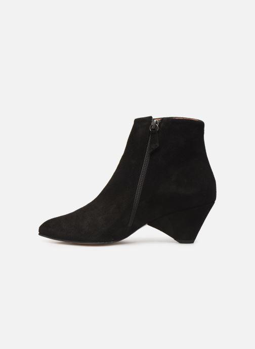 Bottines et boots Anonymous Copenhagen NIVA TRIANGLE Noir vue face
