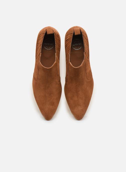 Bottines et boots Made by SARENZA Soft Folk Boots #2 Marron vue portées chaussures