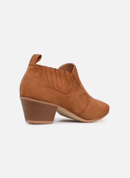 Bottines et boots Made by SARENZA Soft Folk Boots #2 Marron vue face