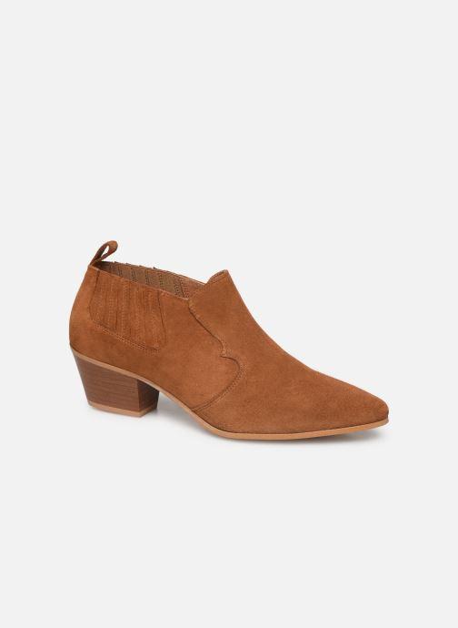 Bottines et boots Made by SARENZA Soft Folk Boots #2 Marron vue droite