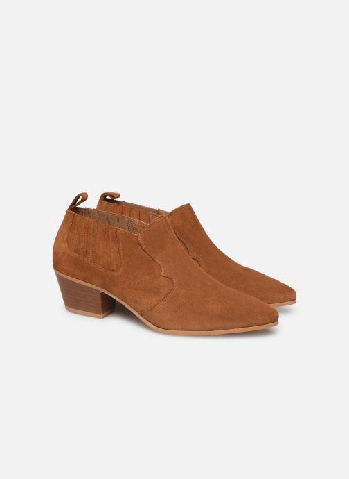 Botines  Made by SARENZA Soft Folk Boots #2 Marrón vistra trasera