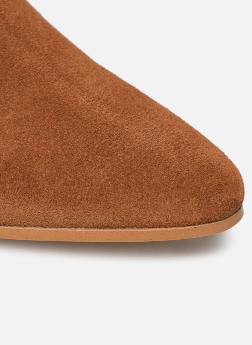 Bottines et boots Made by SARENZA Soft Folk Boots #2 Marron vue gauche