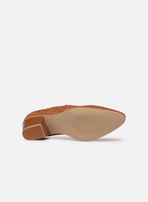 Botines  Made by SARENZA Soft Folk Boots #2 Marrón vista de arriba