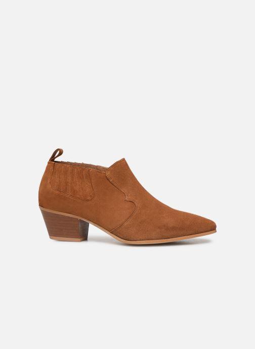 Ankelstøvler Made by SARENZA Soft Folk Boots #2 Brun detaljeret billede af skoene