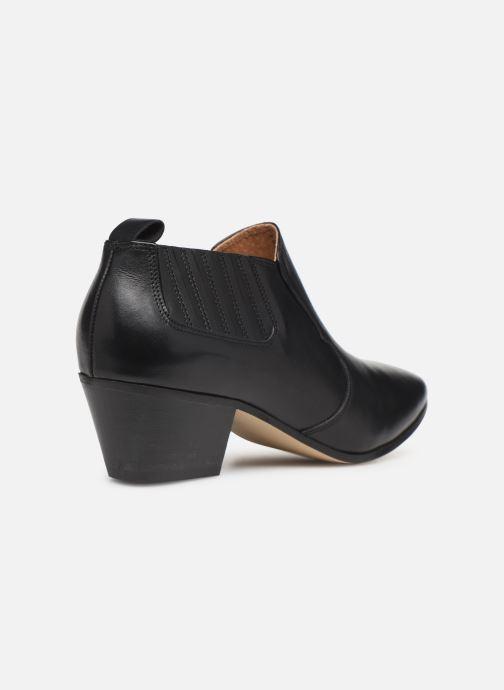Ankelstøvler Made by SARENZA Soft Folk Boots #2 Sort se forfra