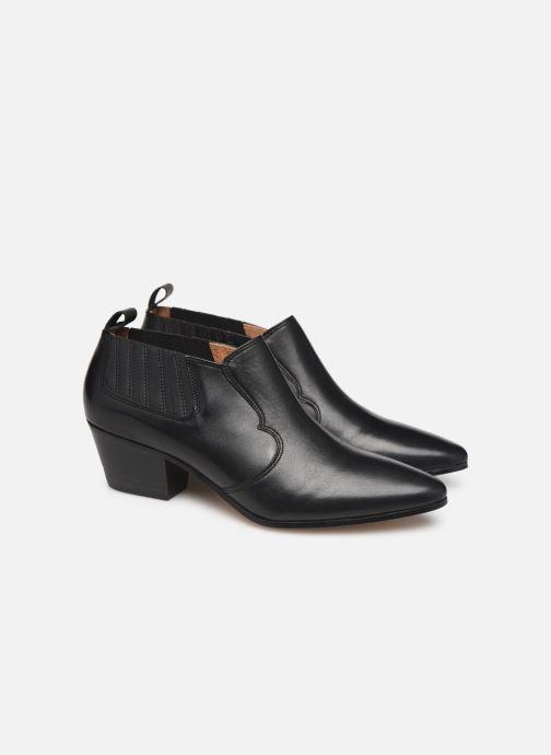 Ankelstøvler Made by SARENZA Soft Folk Boots #2 Sort se bagfra
