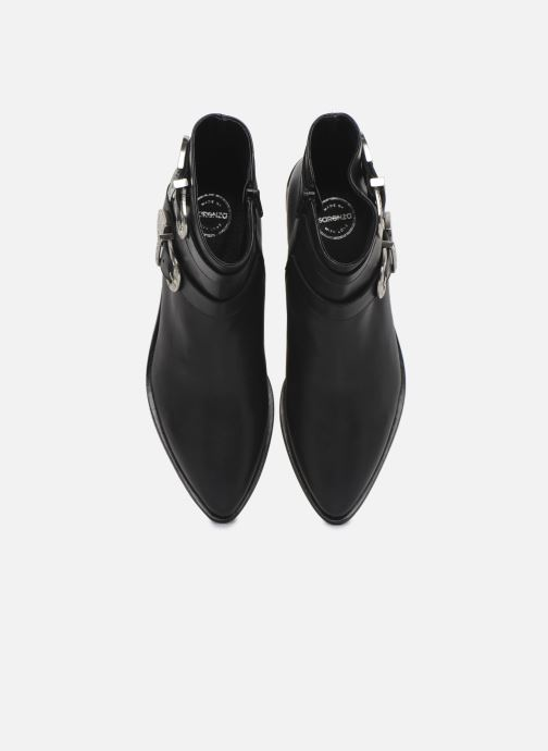 Bottines et boots Made by SARENZA Soft Folk Boots #1 Noir vue portées chaussures