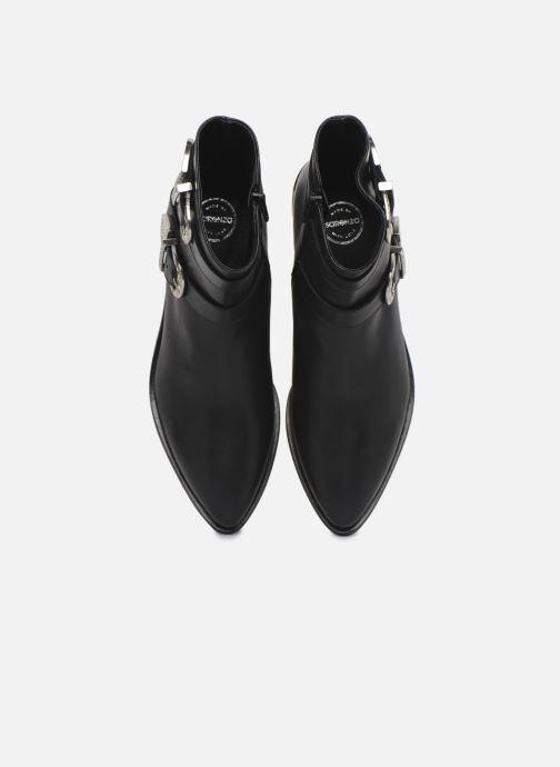 Botines  Made by SARENZA Soft Folk Boots #1 Negro vista del modelo