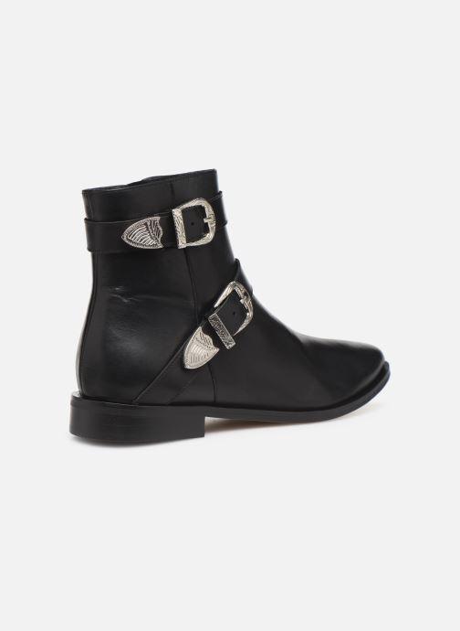 Boots en enkellaarsjes Made by SARENZA Soft Folk Boots #1 Zwart voorkant