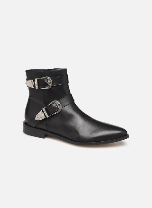 Botines  Made by SARENZA Soft Folk Boots #1 Negro vista lateral derecha