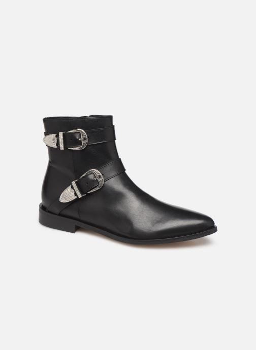 Bottines et boots Made by SARENZA Soft Folk Boots #1 Noir vue droite