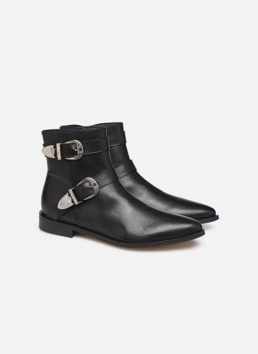 Boots en enkellaarsjes Made by SARENZA Soft Folk Boots #1 Zwart achterkant