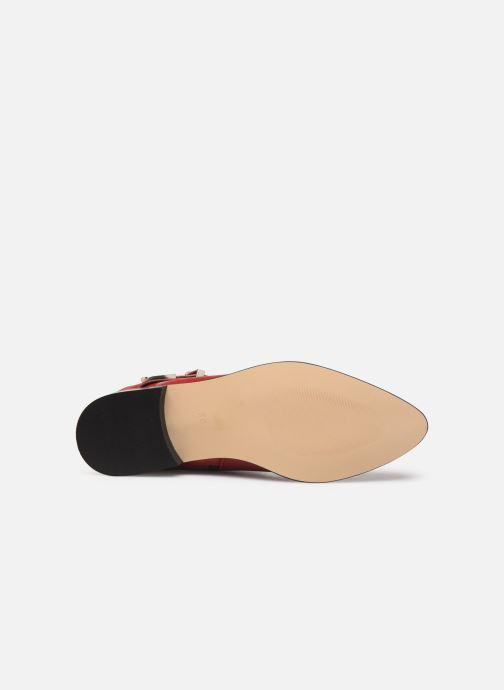 Bottines et boots Made by SARENZA Soft Folk Boots #1 Rouge vue haut