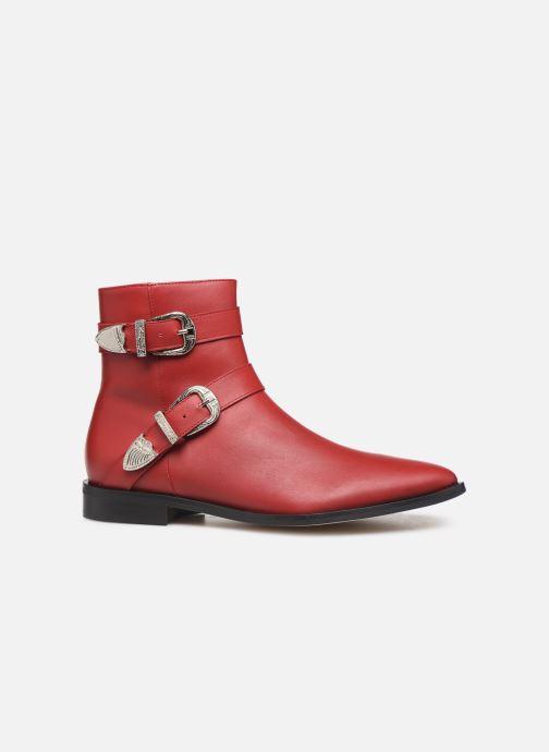 Botines  Made by SARENZA Soft Folk Boots #1 Rojo vista de detalle / par