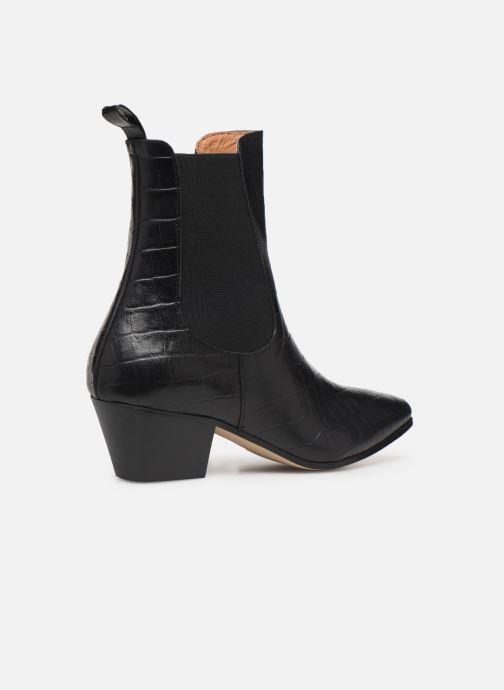 Bottines et boots Made by SARENZA Soft Folk Boots #5 Noir vue face